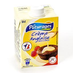 Crème anglaise prête à l'emploi