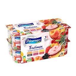 Frutimax - yaourt brassé aux fruits - ananas, frambo...