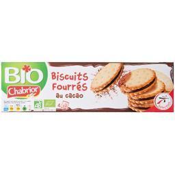 Biscuits fourrés au cacao bio