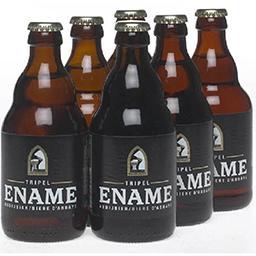 Bière belge blonde de fermentation haute, refermenté...