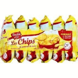 Les chips de pommes de terre