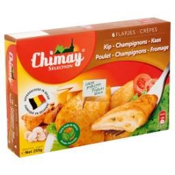 Sélection crêpes poulet-champignons-fromage - 6 pièc...