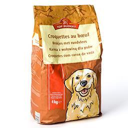 Croquettes pour chiens au bœuf