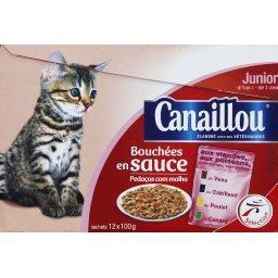 Bouchées en sauce  pour chaton