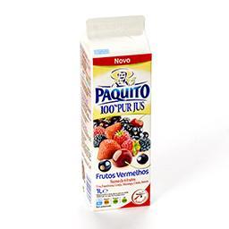 100% pur jus de 6 fruits - rouge velours