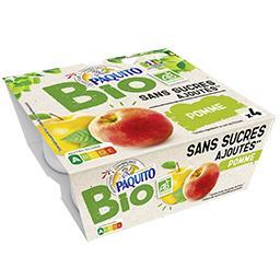 Purée de pomme sans sucres ajoutés BIO