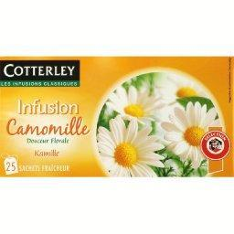 Infusion camomille aux vertus digestives