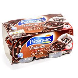 Paturette - croc choco - crème dessert au chocolat e...