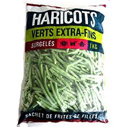 Haricots verts extra fins sachet 250g