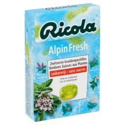 Alpin Fresh Bonbons Suisses aux Plantes