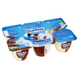P'tite danette dessert chocolat et lait