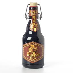 Bière forte brune au miel