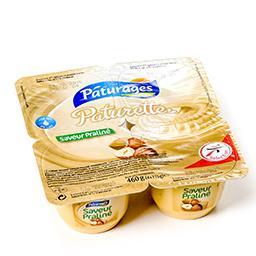 Paturette - crème de dessert saveur praliné
