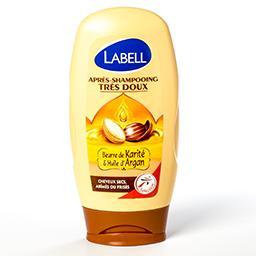 Après shampooing doux - beurre de karité et huile d'...