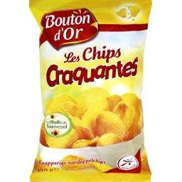 Les chips craquantes