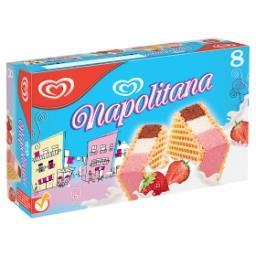 Napolitana - gauftrettes fourrées à la glace vanille...