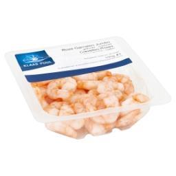 Crevettes roses - décongelées et cuites