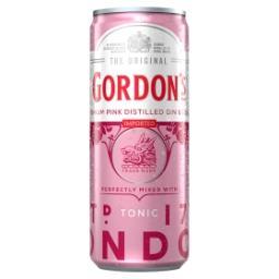 Premium Pink Distilled Gin & Tonic