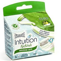 Intuition lames - naturals - sensitive care