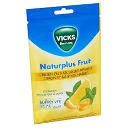 Bonbons Naturplus Fruit Citron et Menthol Naturel