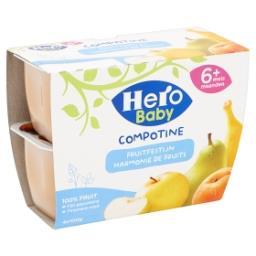 Compotine - harmonie de fruits - 4 à 36 mois