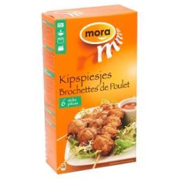 Brochettes de poulet - 6 pièces