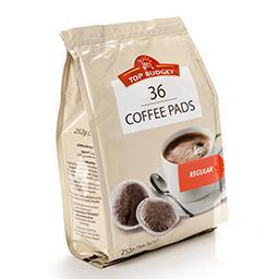Dosettes de café moulu - café pads