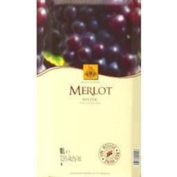 Vin de pays d'oc - merlot, vin rouge