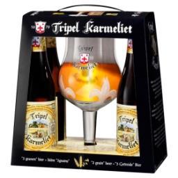 """Bière """"3 Grains"""" Bouteilles + 1 Verre"""
