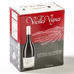 Vin rouge - côtes du rhône