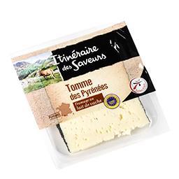 Tomme des pyrénées - fromage au lait de vache - affi...