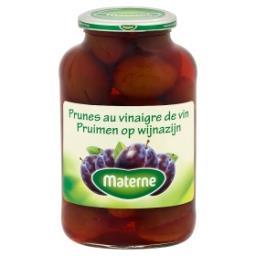 Prunes au vinaigre de vin
