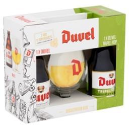 Degustation Box Duvel Tripel Hop Bouteilles + Verre