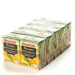 Boisson aux oranges à base de jus de fruit concentré...