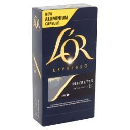 Espresso Ristretto Intensity 11 10 Capsules