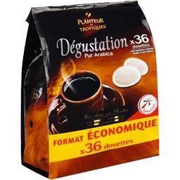 Dégustation pur arabica, café torréfié moulu en dose...