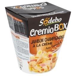 CremioBox Jambon Champignons à la Crème avec Emmenta...