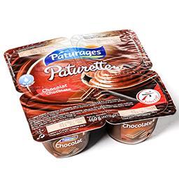 Paturette - crème de dessert saveur chocolat