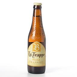 Bière trappiste blonde dorée