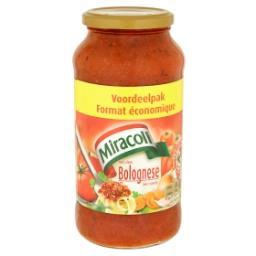 Sauce bolognese avec viande - format économique