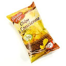 Chips de pommes de terre à l'ancienne