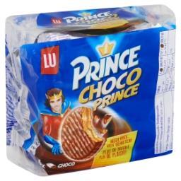 Biscuits fourrés à la crème au chocolat et enrobés d...