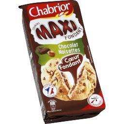 Cookies Maxi Fondant chocolat noisettes