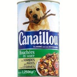 Bouchées en sauce poulet pâtes carottes pour chien