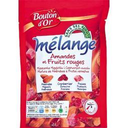 Mélange fruits rouges et amandes