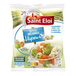 Légumes à la vapeur assaisonnés