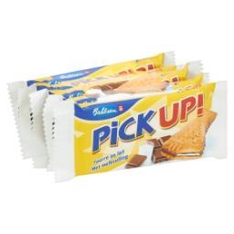 Pick up - biscuits chocolat lait et fourrés au lait