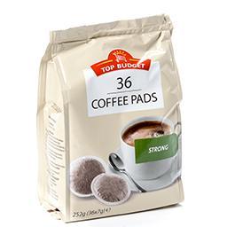 Café pads - dosettes de café - strong
