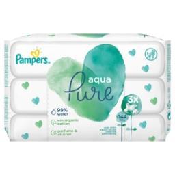 Aqua Pure Lingettes Pour Bébé 3Packs