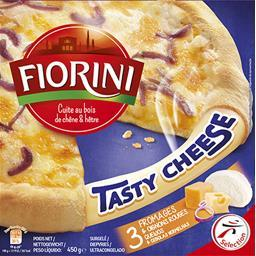 Pizza Tasty Cheese 3 fromages & oignons rouges